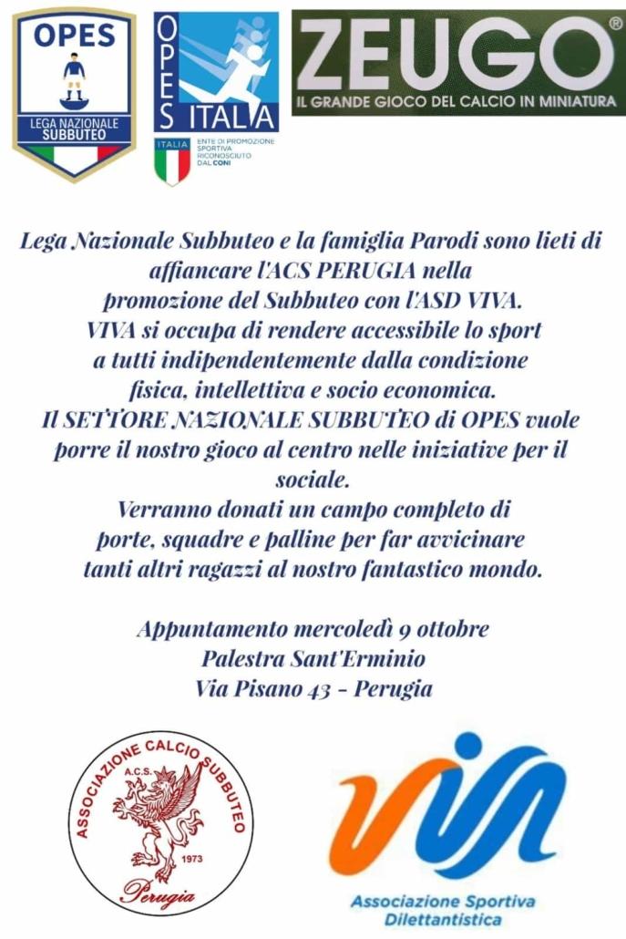 Lega Nazionale Subbuteo a Perugia