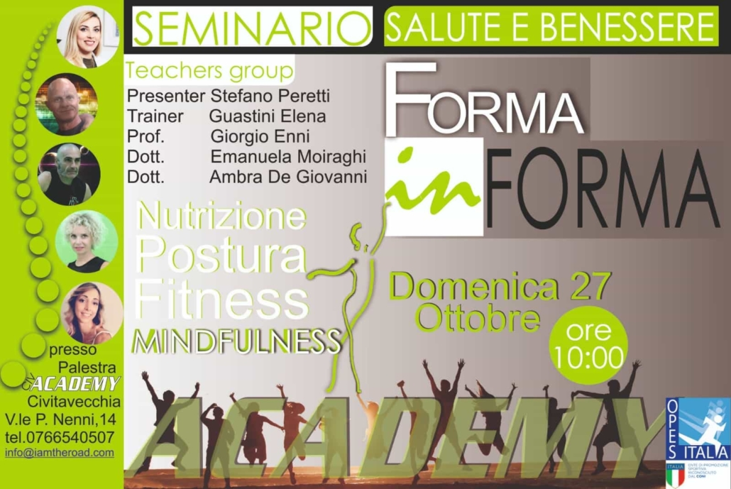 "All'Academy Fitness Civitavecchia il seminario ""Forma In Forma"""