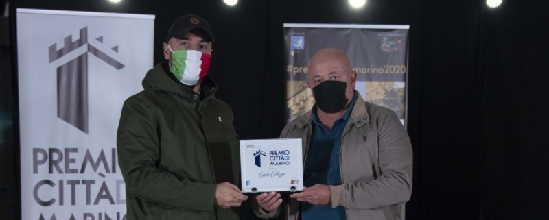 Assegnato il Premio Città di Marino al Sindaco Colizza, al calciatore della Lazio Armini, alla campionessa di pattinaggio Censori e al cestista Giovannangelo
