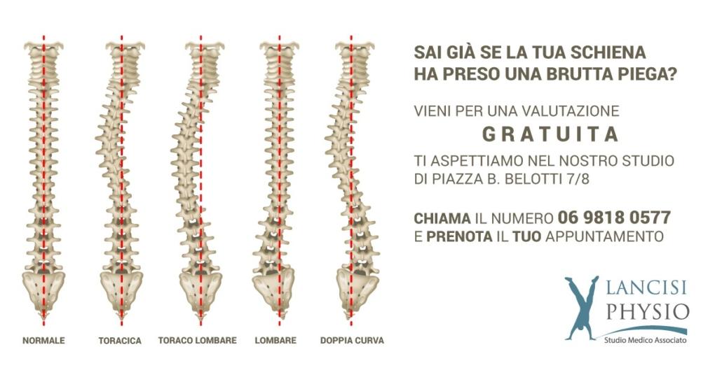 i problemi della colonna vertebrale